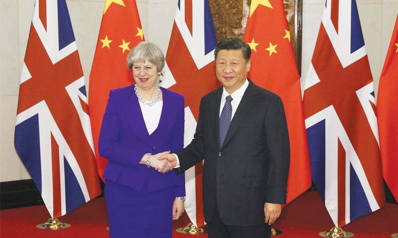 China praises 'pragmatic' Theresa May for ignoring human rights