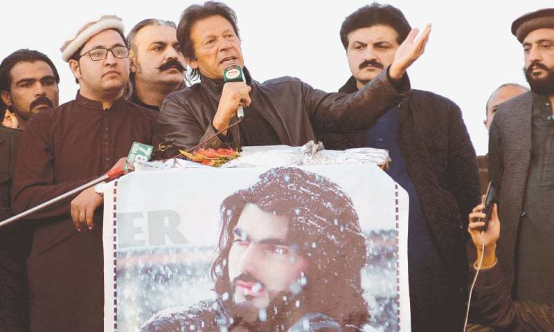 PTI chief endorses demands of protesting tribesmen