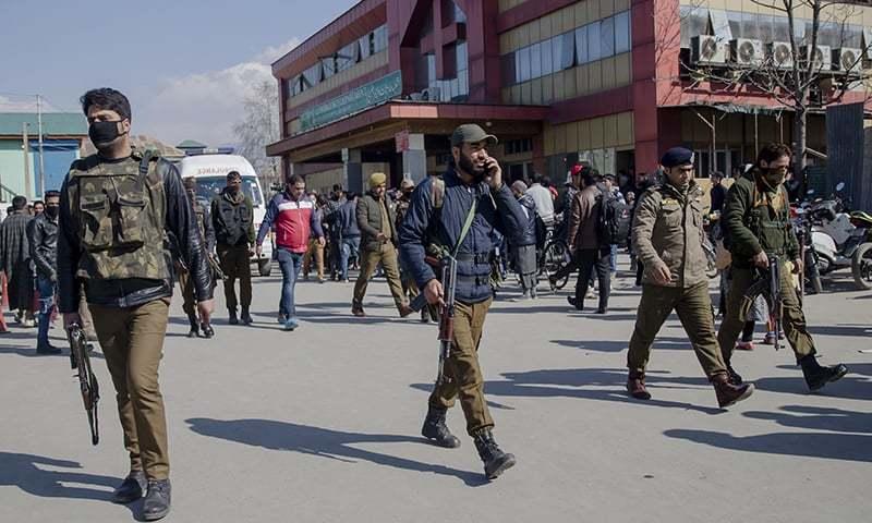 Srinagar Hospital Firing: Pakistani terrorist escapes, cop killed