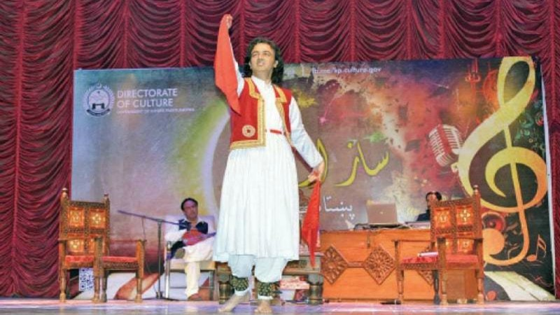 Asfandyar Khan Khattak wants to highlight a culture full of music and dance