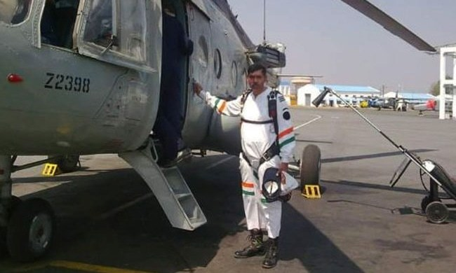 IAF Group Captain Arun Marwaha. —Photo courtesy NDTV