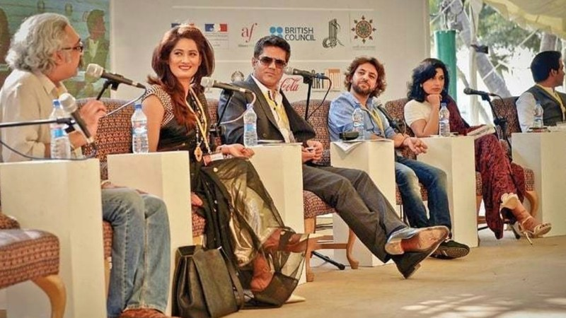 "The session ""Transaction or Transformation in Film and TV"" in progress at KLF 2015"