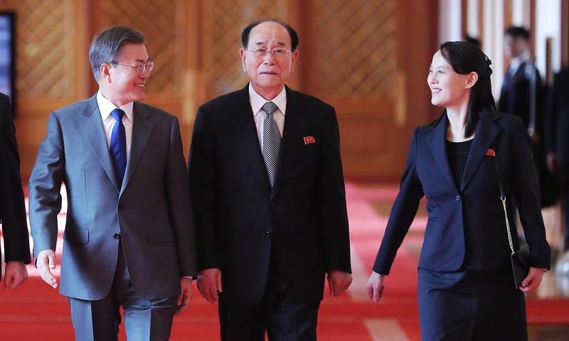 Kim Jong Un invites South Korea's Moon to Pyongyang ...