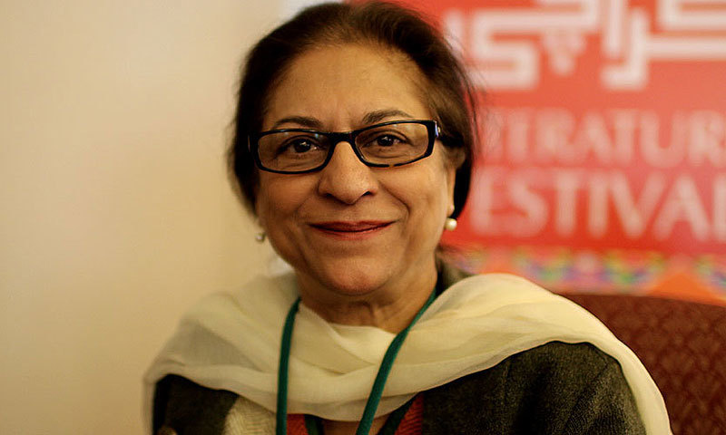 Lawyer and Chairperson of Human Rights Commission of Pakistan, Asma Jahangir. —Photo: Sara Faruqi/File