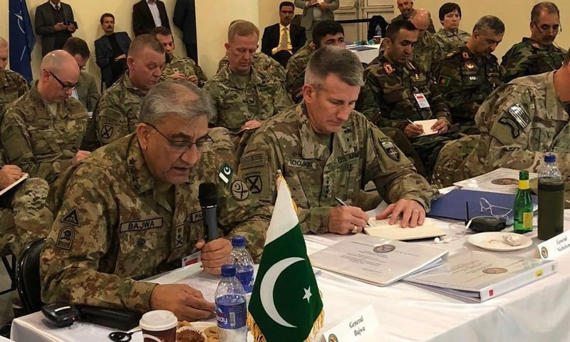 چیفس آف ڈیفنس کانفرنس میں خطے کے تمام ممالک کے فوجی سربراہان نے شرکت کی—فوٹو:آئی ایس پی آر