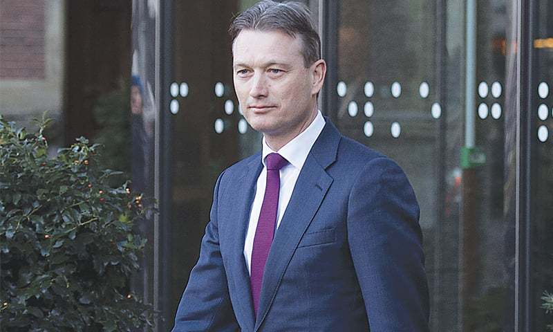 DUTCH Minister of Foreign Affairs Halbe Zijlstra.—AFP