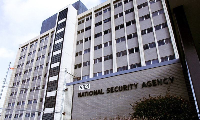 View of the National Security Agency (NSA) in the Washington suburb of Fort Meade, Maryland. — AFP