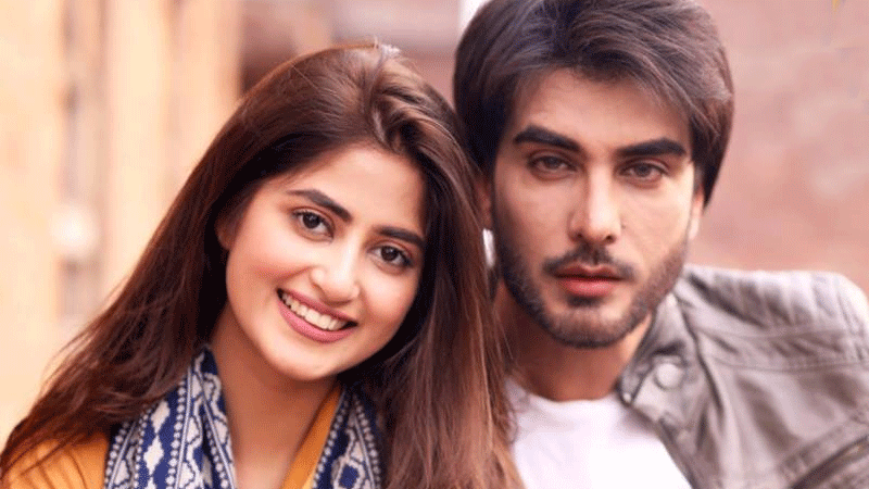 """I play a character named Khizer, opposite Sajal, who plays Noor in the drama."""