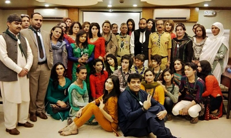 It was the first time in Pakistan that transgender persons were welcomed into the scouting community.— Photo: press release