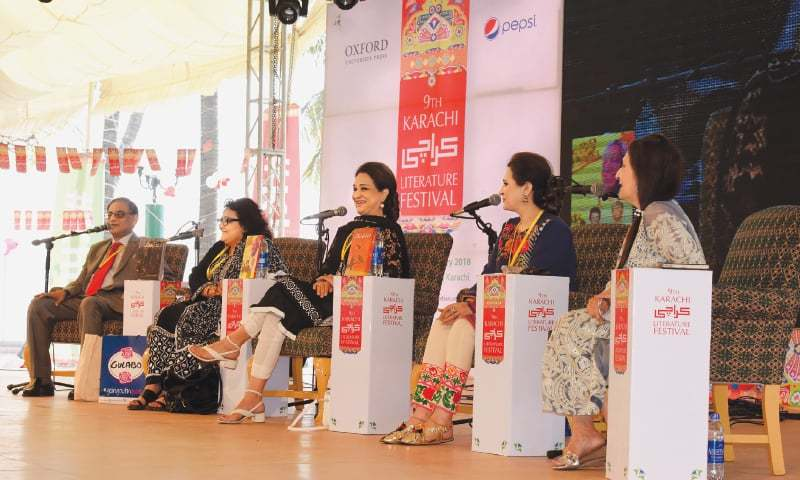This year's Karachi Literature Festival had many of the same people and same thoughts as  before | Tahir Jamal/White Star