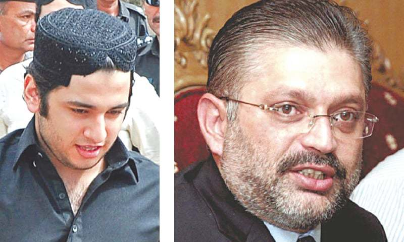 THE apex court directs the IG prisons to produce doctors who recommended hospitalisation of Shahrukh Jatoi (left) and Sharjeel Memon.