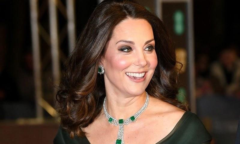 بافٹا ایوارڈزکا میلہ برطانوی شہزادی کیٹ مڈلٹن نے لوٹ لیا