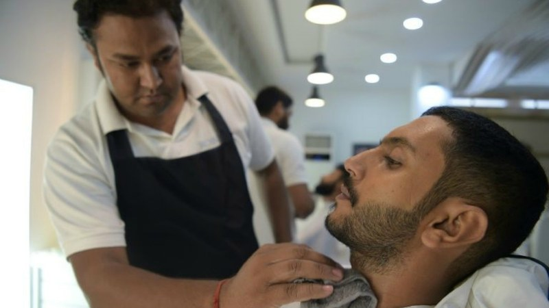 Mens salons are now offering more than just a haircut and Pakistani men are all for it