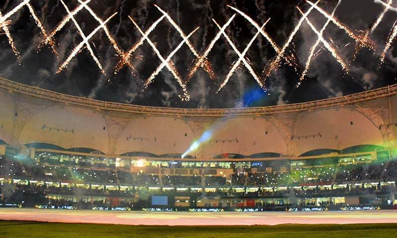 The PSL final in Karachi was played in front of a capacity crowd but same was definitely not the case during the UAE leg. — File