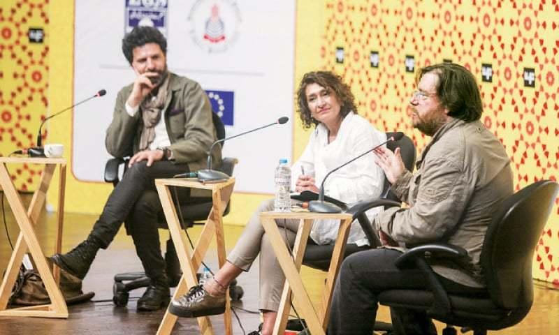 Ghaith Abdul-Ahad, Razia Iqbal and Sinan Antoon. — White Star