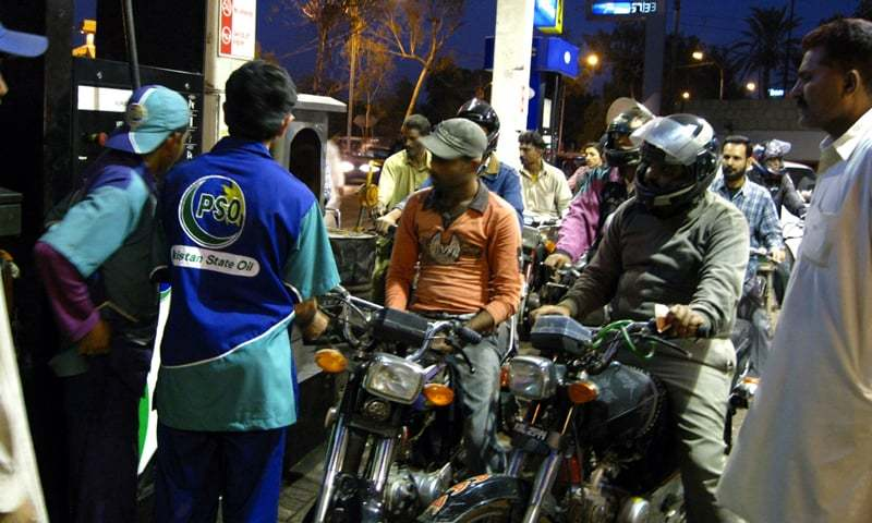 Bikers account for 60pc of the total petrol sales in the country.