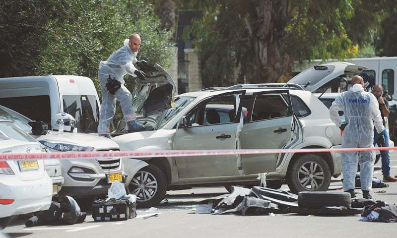 Police say Acre car-ramming a nationalistic terror attack