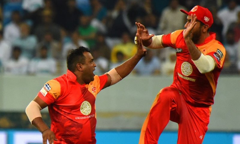 Samit Patel celebrates — PSL
