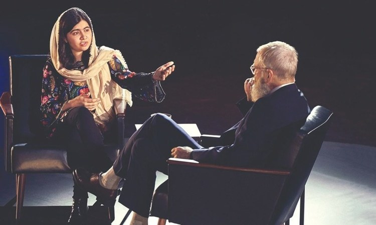 Malala Yousafzai Advocates for More Female Education With David Letterman