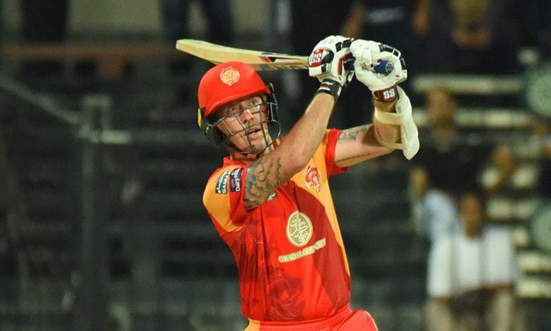 Luke Ronchi in action  — PSL