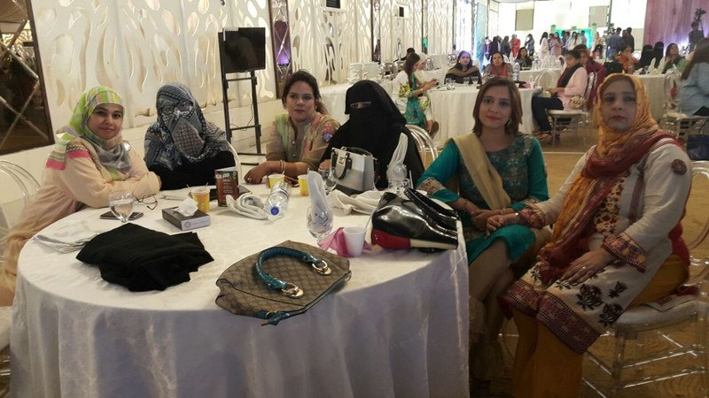 500 women participated in live cooking shows and shared their secret recipes last weekend in Karachi