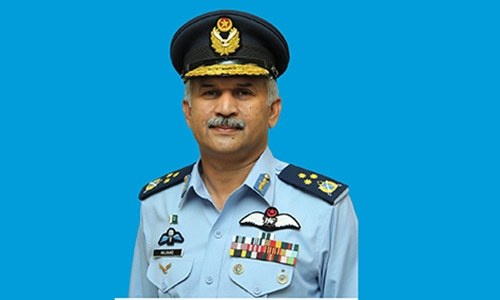Air Marshal Mujahid Anwar Khan — Photo Courtesy: PAF
