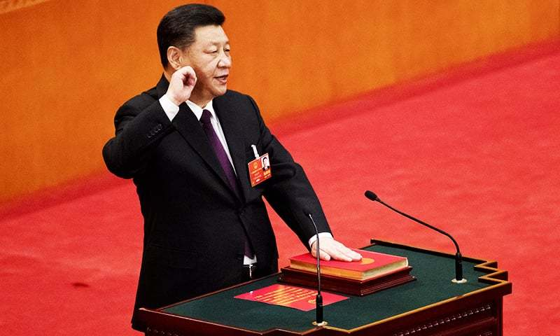 China will ride the mighty east wind to riches, says President Xi