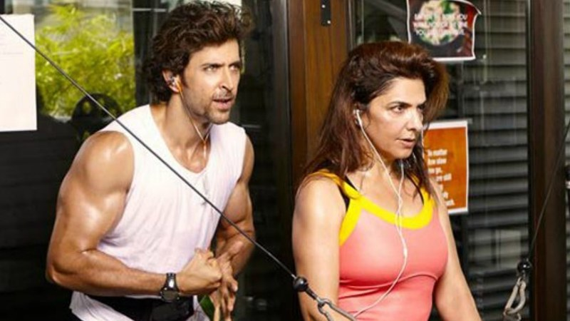 Hrithik Roshan considers his mother to be his 'competition'
