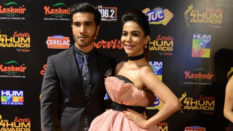 Feroze Khan and Humaima Mallick