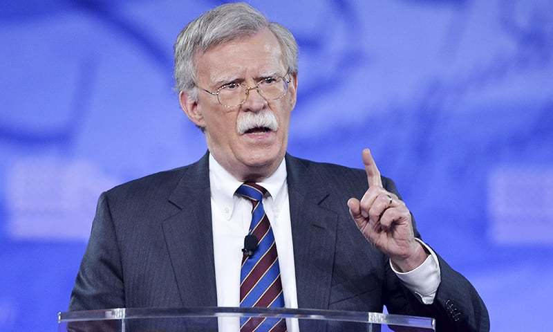 This file photo taken on February 24, 2017 shows former US Ambassador to the UN John Bolton speaking to the Conservative Political Action Conference (CPAC) at National Harbor, Maryland. — AFP