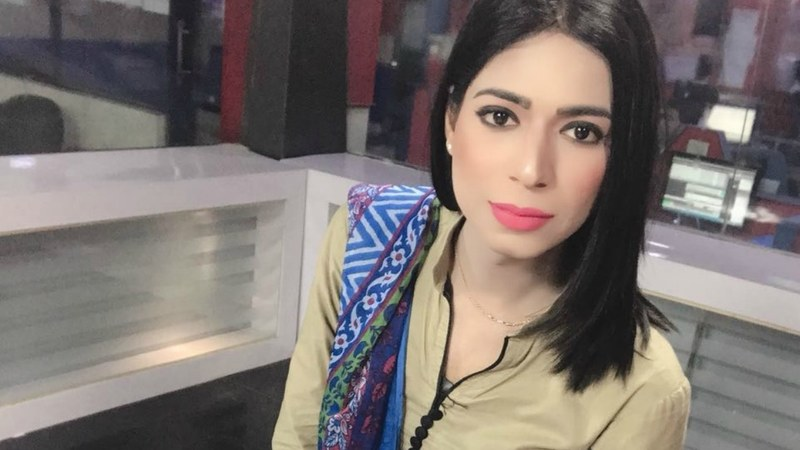 Marvia Malik is believed to be Pakistan's first trangender news anchor