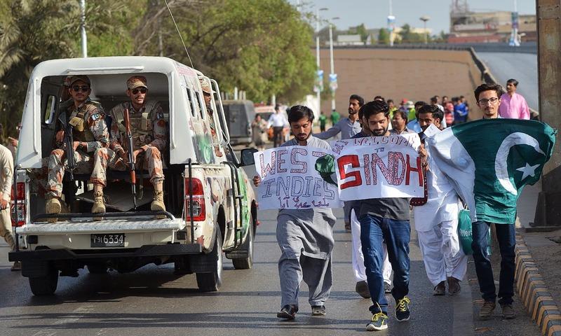 کراچی میں عالمی کرکٹ کی یادگار واپسی