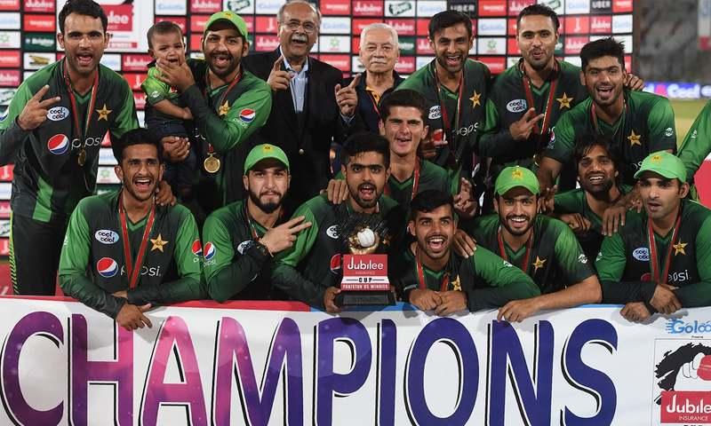 ٹی ٹوئنٹی سیریز: پاکستان کی 3-0 سے کامیابی