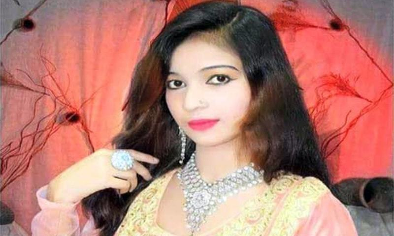 Female singer shot dead during performance in Larkana