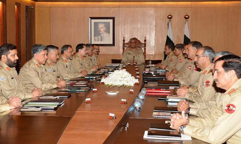 Gen Bajwa chairs 210th Corps Commanders' Conference — ISPR