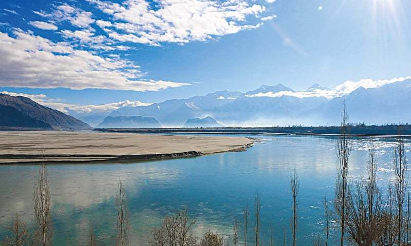 A view of the River Indus near Skardu in the Gilgit-Baltistan region of Pakistan | Creative Commons