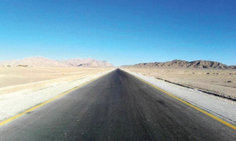 The 459-km N85 highway connects Hoshab to Sorab and is an essential link in the western route of CPEC. Its widening and improvement alone has cost more than Rs20 billion from PSDP funds, all paid by government of Pakistan.—Dawn