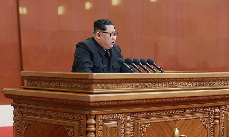 Kim's declaration comes less than a week before he meets South Korean President Moon Jae-in — AFP