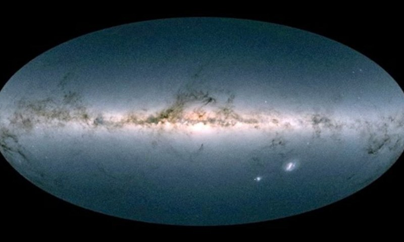"""Gaia satellite has produced a """"stunning"""" 3-D map of more than a billion stars in our Milky Way galaxy.— AFP"""