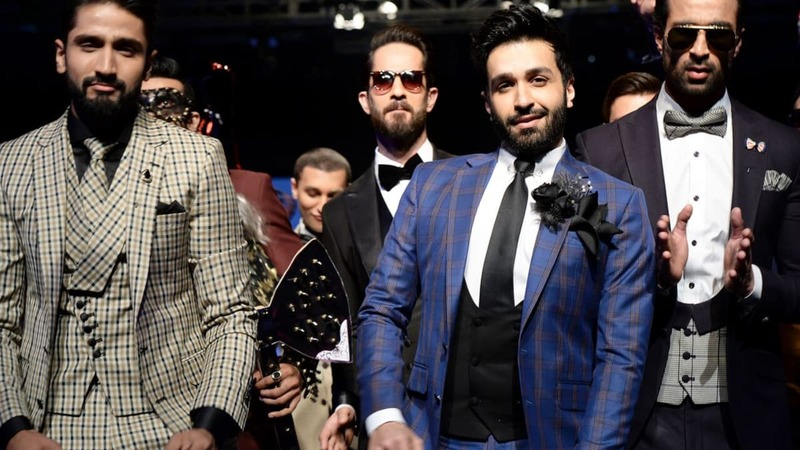 Calm down boys, we're talking about menswear on the ramp...