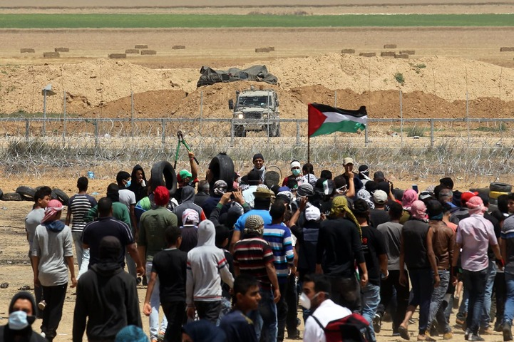 Some 15000 Palestinians participate in rallies along Gaza border: Israeli army