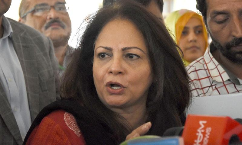 Finance Minister Dr Ayesha Ghaus Pasha.—APP