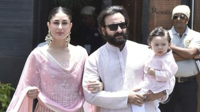 Kareena on Taimur: Saif is trying to teach him cricket