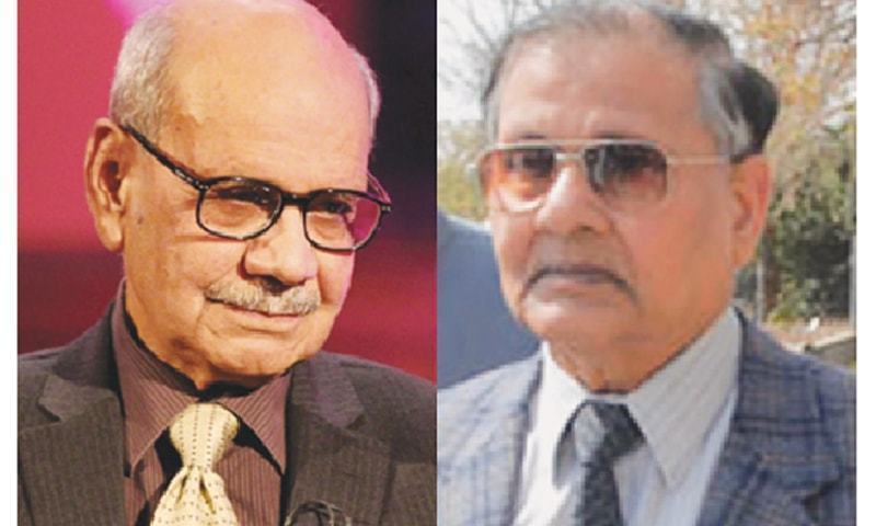FORMER chief of Inter-Services Intelligence retired Lt Gen Asad Durrani and ex-army chief retired Gen Aslam Beg
