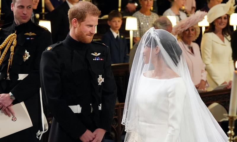 برطانوی شہزادہ ہیری کی شادی میگھن سے انجام پائی