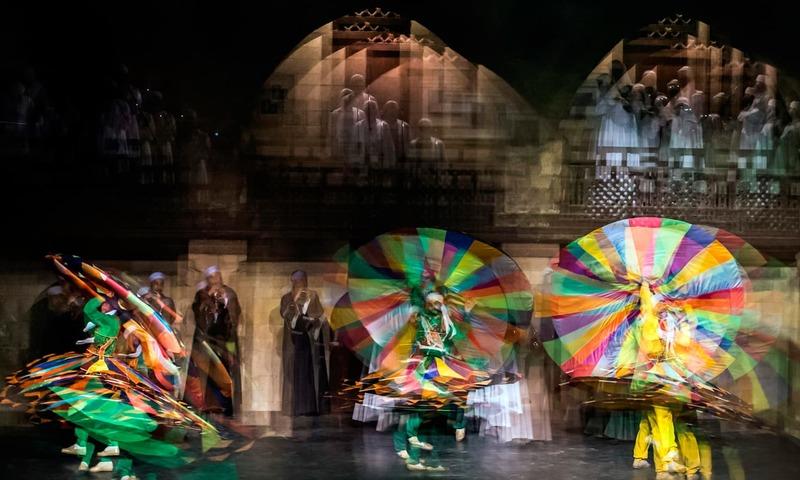 'تنورہ' مصر کا منفرد رقص
