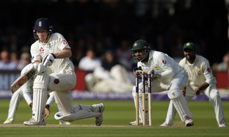 1st Test: Pakistan 50/1 in reply to England's 184 on Day 1