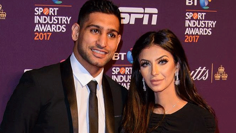 Amir Khan has been accused of infidelity again