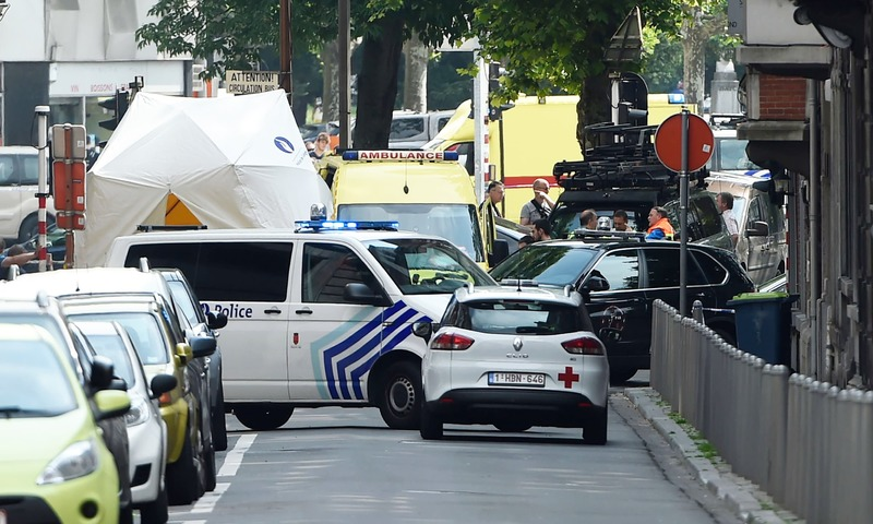 Gunman kills 3 in Belgian city of Liege before being shot dead