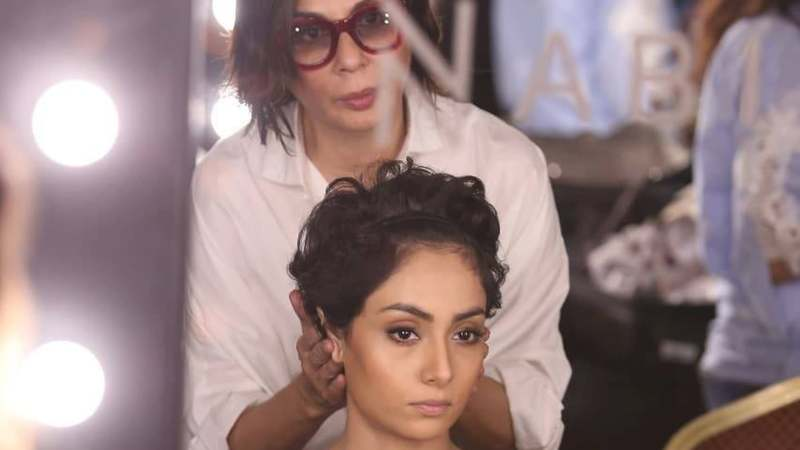 Nabila is the official hair and makeup stylist for IIFA